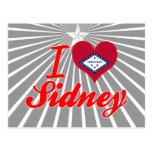 Amo a Sidney, Arkansas Tarjeta Postal