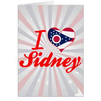 Amo a Sidney, Ohio Felicitacion