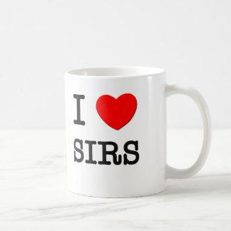 Amo a sires taza clásica