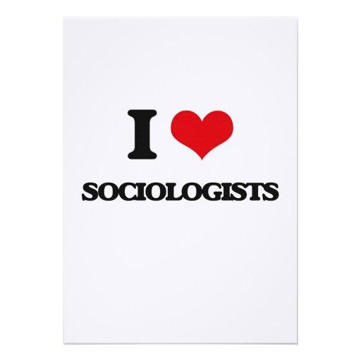 Amo a sociólogos comunicados