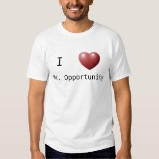 Amo a Sr. Opportunity Poleras