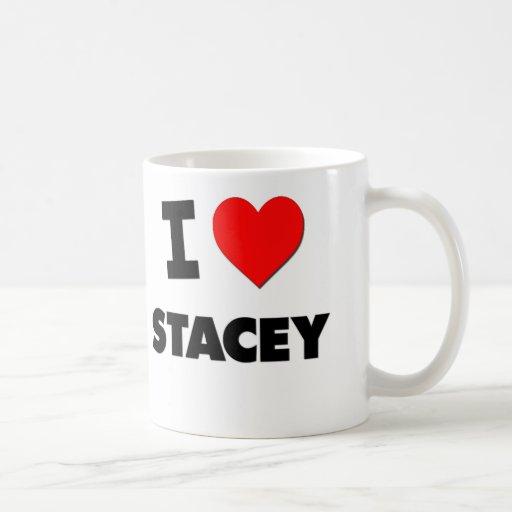 Amo a Stacey Tazas De Café