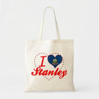 Amo a Stanley, Idaho Bolsas De Mano