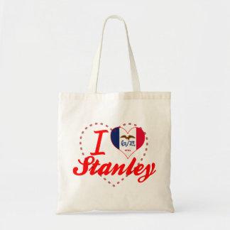 Amo a Stanley, Iowa Bolsa Lienzo