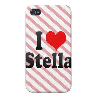 Amo a Stella iPhone 4 Carcasa