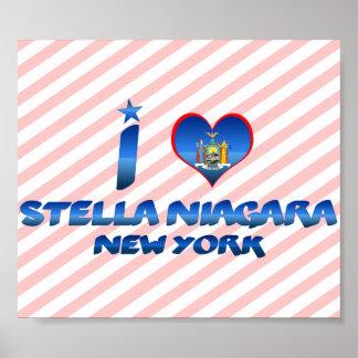 Amo a Stella Niágara, Nueva York Impresiones
