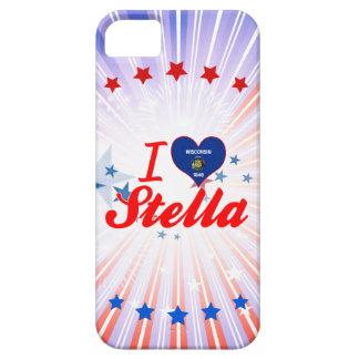 Amo a Stella Wisconsin iPhone 5 Fundas