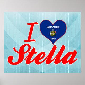 Amo a Stella, Wisconsin Posters