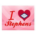 Amo a Stephens, Arkansas