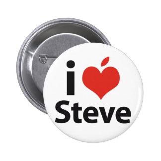 Amo a Steve Pin Redondo De 2 Pulgadas