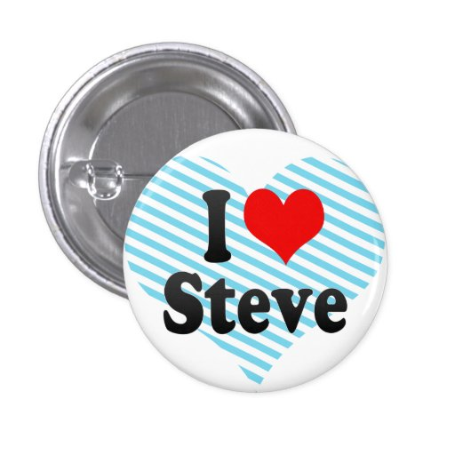 Amo a Steve Pins