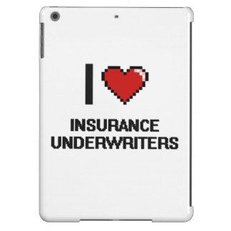 Amo a suscriptores de seguro funda para iPad air