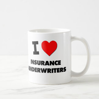 Amo a suscriptores de seguro taza