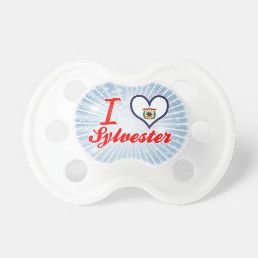 Amo a Sylvester, Virginia Occidental Chupete De Bebe
