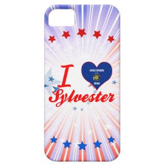 Amo a Sylvester, Wisconsin iPhone 5 Carcasas