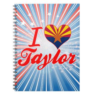 Amo a Taylor, Arizona Libreta