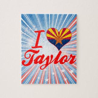 Amo a Taylor, Arizona Rompecabezas