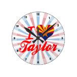 Amo a Taylor, Arizona Relojes