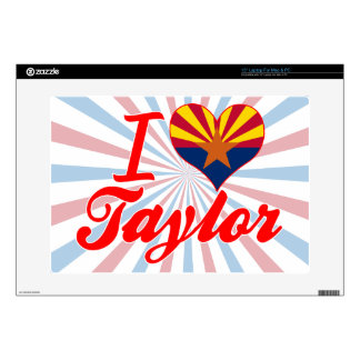 Amo a Taylor, Arizona Portátil Skin