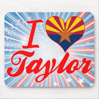 Amo a Taylor, Arizona Alfombrillas De Raton