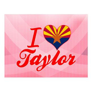Amo a Taylor, Arizona Tarjetas Postales