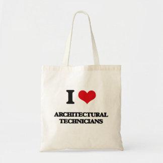 Amo a técnicos arquitectónicos bolsas