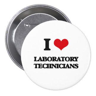 Amo a técnicos de laboratorio pin
