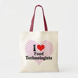 Amo a tecnólogos de la comida bolsa