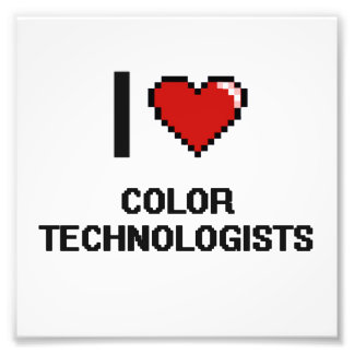 Amo a tecnólogos del color arte fotográfico