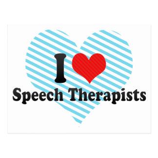 Amo a terapeutas de discurso postal