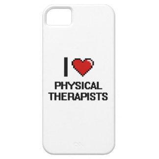 Amo a terapeutas físicos iPhone 5 funda