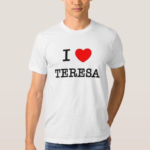 Amo a Teresa Playera