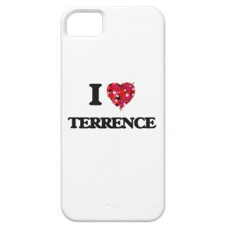 Amo a Terrence iPhone 5 Fundas