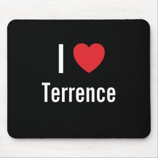 Amo a Terrence Alfombrilla De Ratones