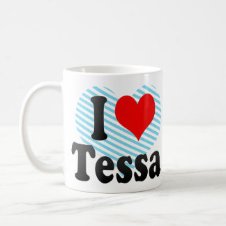 Amo a Tessa Taza De Café