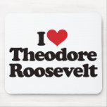 Amo a Theodore Roosevelt Tapete De Ratón