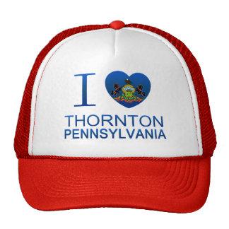 Amo a Thornton, PA Gorros Bordados