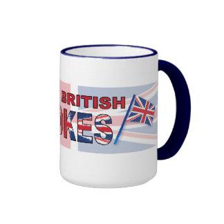 Amo a tíos británicos taza