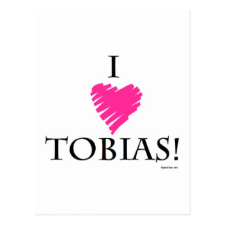¡Amo a Tobias! Postales