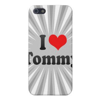 Amo a Tommy iPhone 5 Funda