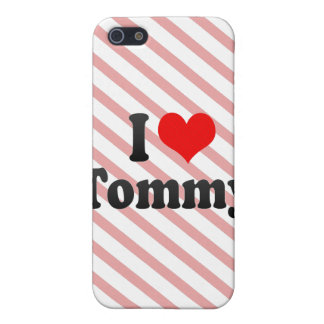 Amo a Tommy iPhone 5 Carcasa