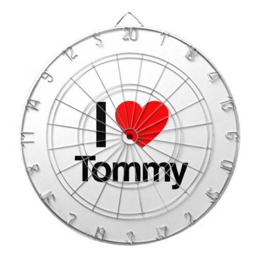 amo a tommy tabla dardos