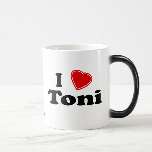 Amo a Toni Taza De Café