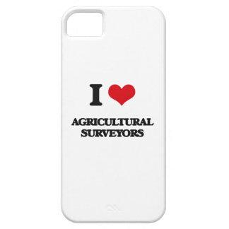 Amo a topógrafos agrícolas iPhone 5 Case-Mate cárcasa