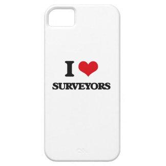 Amo a topógrafos iPhone 5 cárcasa