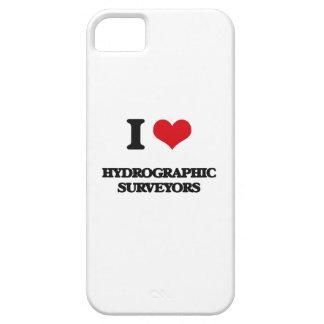 Amo a topógrafos hidrográficos iPhone 5 Case-Mate cárcasa