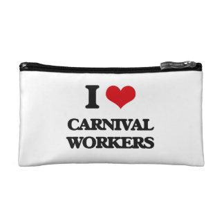 Amo a trabajadores del carnaval