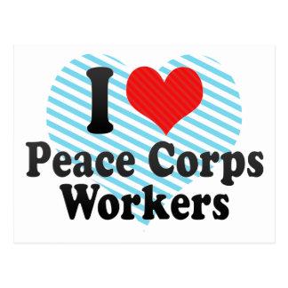 Amo a trabajadores del cuerpo de paz postal