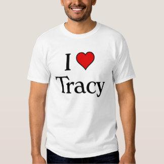 Amo a Tracy Camisas