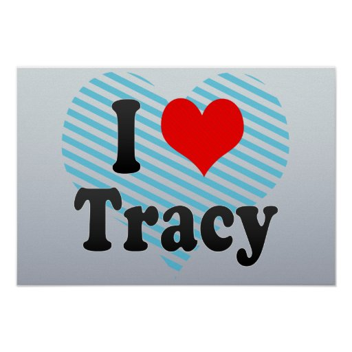 Amo a Tracy, Estados Unidos Posters
